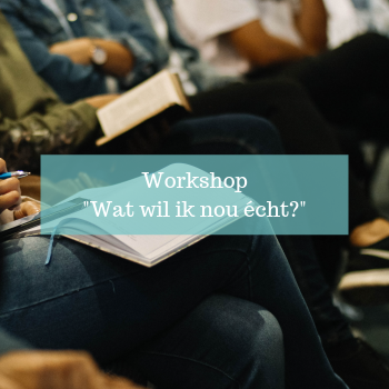 Workshop wat wil ik nou echt - Way of Life Guiding